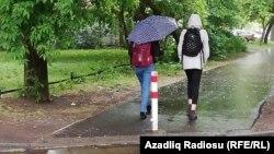 Yağış, (arxiv)