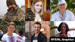 Они перешли в общении на украинский язык