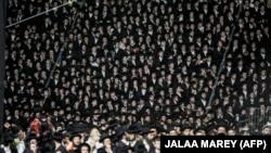 Իսրայել - Լագ բա Օմերի տոնակատարությունը Գալիլեայի Մերոն լեռան վրա, 29-ը ապրիլի, 2021թ․
