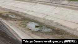 Зрошувальне відгалуження Північно-Кримського каналу в смт. Красногвардійське