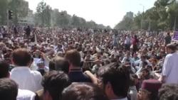 د پاکستان حکومتي دوکانونو سلګونه کارکوونکو احتجاج کړی