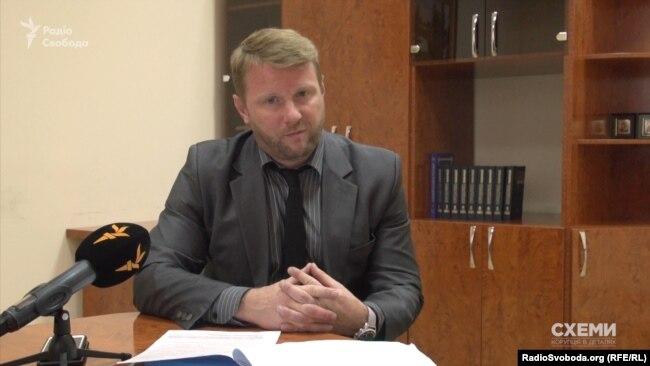 Речник МВС Артем Шевченко