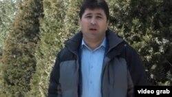 Шарофиддин Гадоев в Душанбе, 15 февраля 2019 года