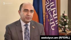 ԱԺ «Լուսավոր Հայաստան» խմբակցության ղեկավար Էդմոն Մարուքյանը