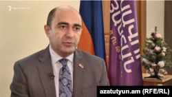 Глава оппозиционной фракции «Лусавор Айастан» Эдмон Марукян