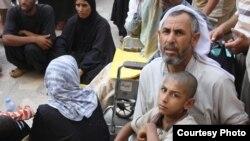 عائلات فقيرة عراقية
