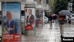 Izborni posteri u kampanji u oktobru 2016, ilustracija
