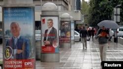 Plakati političkih stranaka u Podgorici