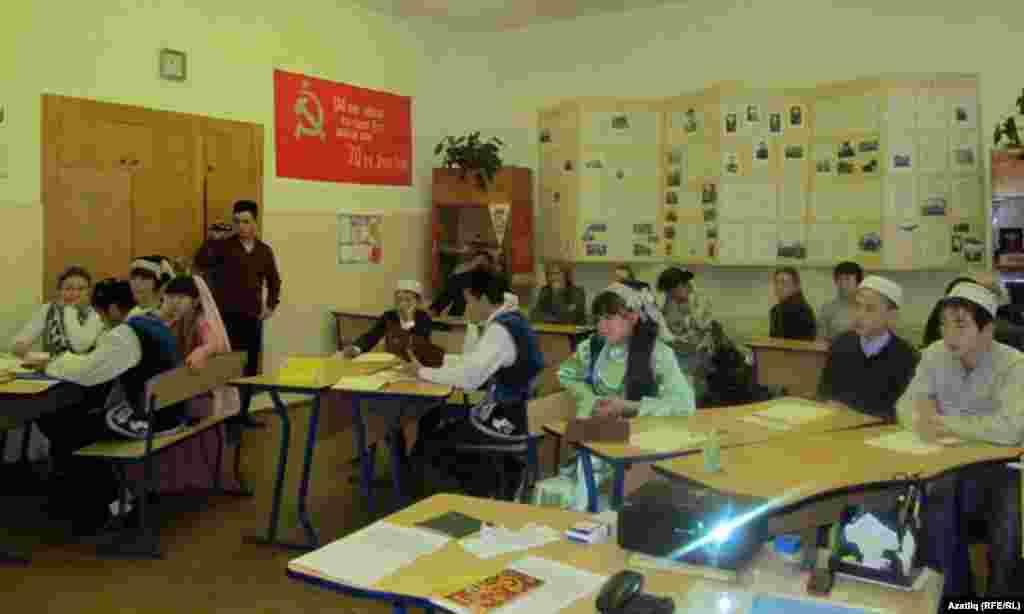 Татар теленнән ачык дәрес