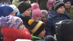 На Хортиці вітали дітей українських військових з днем святого Миколая (відео)