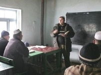 A madrasah in Gisar, north of the Tajik capital