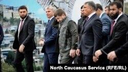 Рамзан Кадыров и полпред президента в СКФО Александр Матовников, 5 октября 2018 г.