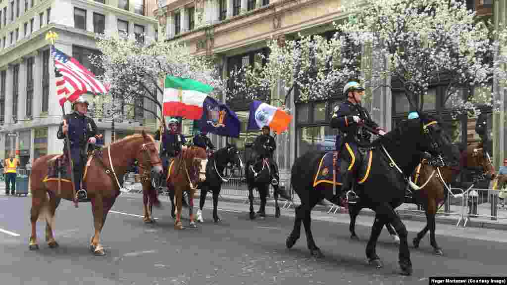 Persian Parad in New York City.