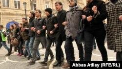 Gənclərin etiraz aksiyası, 11 mart 2011