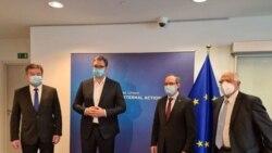 Takimi i dytë ndërmjet Hotit dhe Vuçiqit në Bruksel