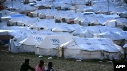 The Quru Gusik refugee camp for Syrians in northern Iraq.
