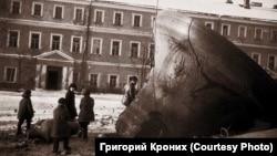 Разбитый колокол. Загорск (ныне Сергиев Посад), 1930-е гг.