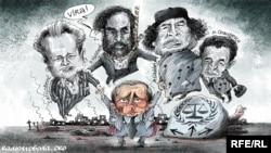 Политическая карикатура Алексея Кустовского