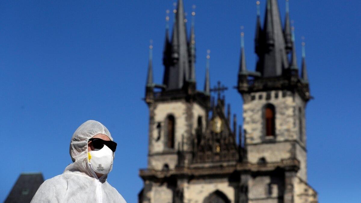 Украинский «Руслан» с масками и респираторами уже в Чехии
