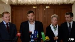 Попередня зустріч контактної групи у Мінську, 5 вересня 2014