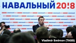 Алексей Навальный на открытии предвыборного штаба в Иванове, 21 апреля 2017 г.