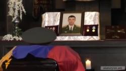 Այսօր Երևանում տեղի ունեցավ մայոր Հայկ Թորոյանի հոգեհանգիստը