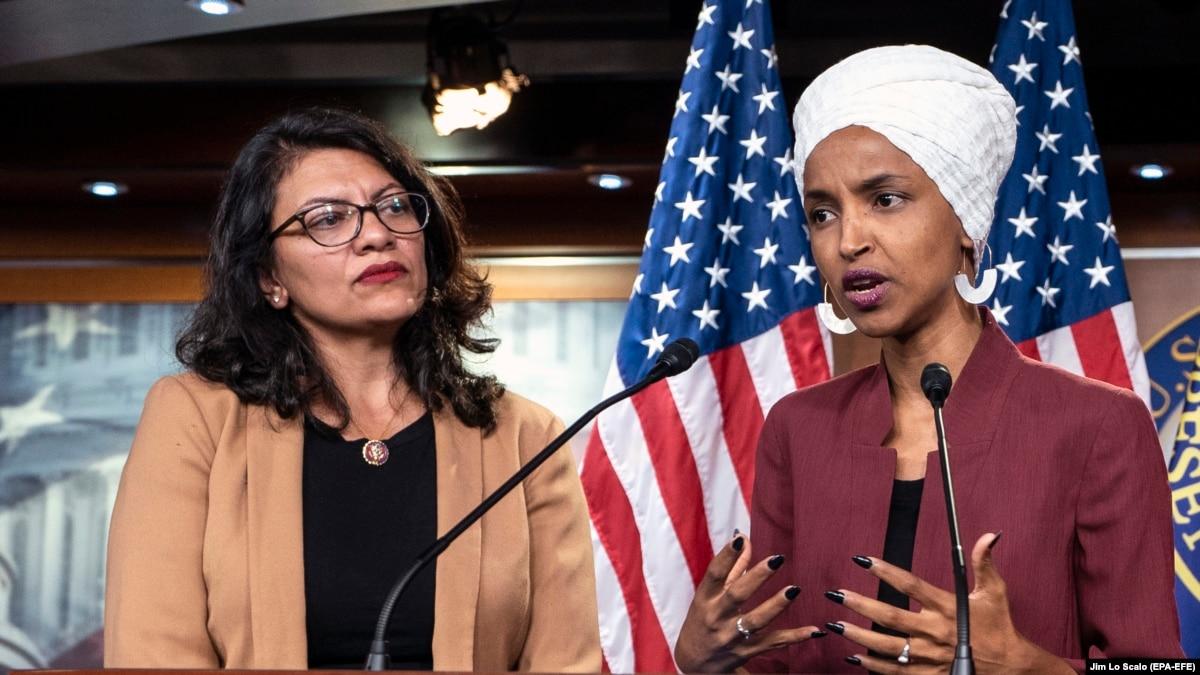 Израиль все же разрешил въезд конгресменкам США Омар и Тлаіб