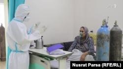 بیمار ویروس کرونا شفاخانه افغان-جاپان