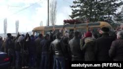 Գյումրիում մեկնարկեց 2017-ի առաջին զորակոչը