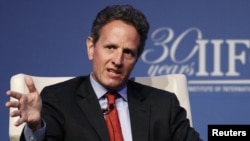 Timothy Geithner, ish sekretar i thesarit amerikan