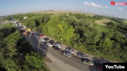 Пробки на трасі Керч-Сімферополь