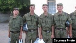 Омские парни на службе в Оренбургской области