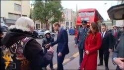Принц Вільям приїхав до волонтерів на громадському транспорті