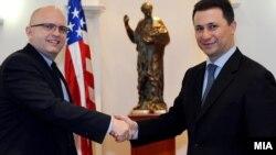 Средба на премиерот Никола Груевски со заменик-помошникот државен секретар на САД Филип Рикер, 18 јануари 2012