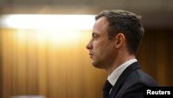 Oscar Pistorius na izricanju presude, Pretoria, 21. oktobar 2014.
