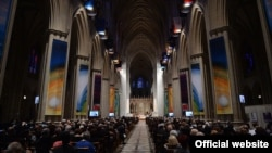 U.S. - An ecumenical service at Washington's National Cathedral dedicated to the Armenian genocide centennial, 7May2015.