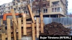 Përgatitjet për heqjen e murit në veri të Mitrovicës