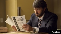"Actor Ben Affleck is shown in a scene from the film ""Argo."""