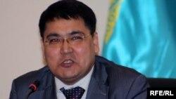 Нуржан Джолдасбеков, судья по делу бывшего топ-менеджера Мухтара Джакишева. Астана, 26 марта 2010 года.
