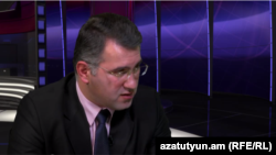 Արմեն Մարտիրոսյանը «Ազատության» տաղավարում, 6-ը փետրվարի, 2015թ․