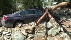 Smrtonosna poplava u Makedoniji