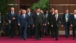 Назарбаев, Путин, Мирзияев и другие на саммите «Один пояс – один путь»