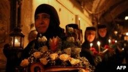 На православное Рождеситво в Израиль собираются тысячи паломников