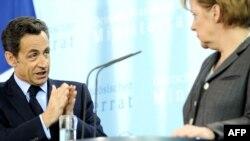 Angela Merkel şi Nicolas Sarkozy, Berlin 12 martie