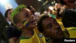Болельщики Бразилии в недоумении