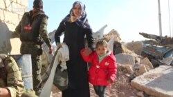 پر حلب د شامي پوځ غلبې ټینګېدو زرګونه وګړي په تېښته کړي