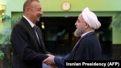 İ.Əliyev və H.Ruhani