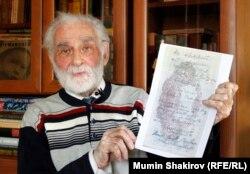 Ветеран войны Алексей Абрамов