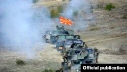 Воена вежба, Армија, македонска војска