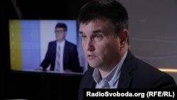 Павло Клімкін у студії Радіо Свобода